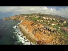 Flying over the California Coast at Terranea Resort [DJI Phantom Quadcopter]
