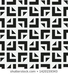 Repeating geometric tiles with squares. Geometric Patterns, Geometric Tiles, Tangle Patterns, Pattern Drawing, Pattern Art, Black And White Quilts, Stenciled Floor, Beautiful Rangoli Designs, Marble Pattern