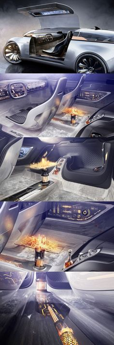 Concept UX/UI Frédéric LE SCIELLOUR https://www.behance.net/gallery/55744321/Audi-e-ton-Imperator