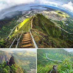 Haiku Stairs #hawaii