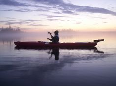 Everyone should experience canoeing in the light of midnight sun.  #finland #canoeing #nature #peace