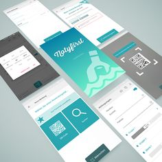 Appdesign for our own app Notyfirst
