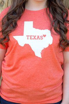 I Love Texas Longhorns - University of Texas T-Shirt - UT by DeepNTheHeartODisney on Etsy https://www.etsy.com/listing/265382616/i-love-texas-longhorns-university-of