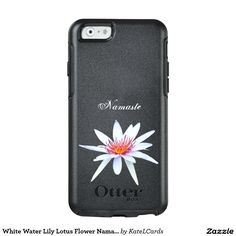 White Water Lily Lotus Flower Namaste Serenity OtterBox iPhone 6/6s Case