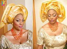 Nigerian Wedding: 30 Gorgeous Igbo Traditional Bridal Styles, The George Wrappers, Igbo Blouse & More   Nigerian Wedding ~African Prints, African women dresses, African fashion styles, African clothing, Nigerian style, Ghanaian fashion