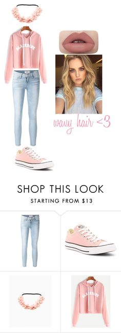 """Loren beech inspired tumblr outfit <3"" by stephbruhhh on Polyvore featuring Frame and Converse"