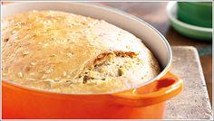 Pan rústico con harina de espelta