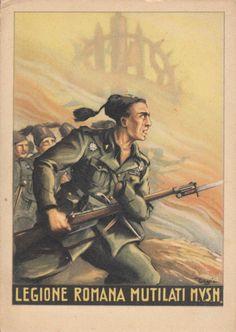 "Italian  WW2  ""Roman Legion"""