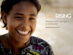 When 13-year old Azmera is told she must marry, she does something shocking; she says no . Meet an Ethiopian family where a brother champions his younger sister's cause to be educated and to be free. Watch Azmera's story for free in the critically acclaimed Girl Rising #movie here http://www.worldvision.ie/girlrising/azmeras-story