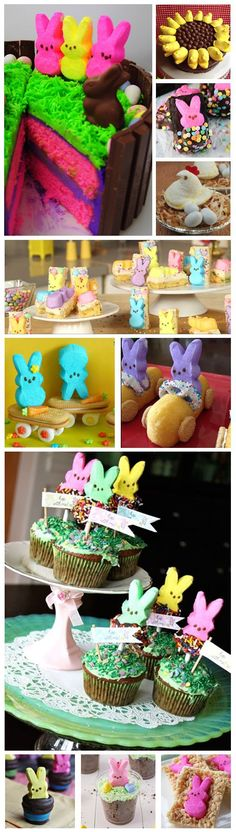 Top 50 Peeps Treats recipes to celebrate Easter and spring. Dessert, drink, cake, chocolate covered recipe ideas, party ideas and more. Peeps fun for the whole family!