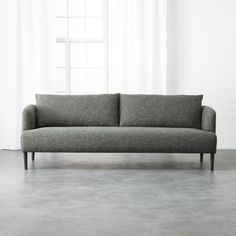 Shop ronan grey sofa. We partnered with furniture designer James Patterson to come up with a sophisticated, modern sofa with tons of style for under $1000.