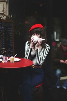 Red Beret 2017 Street Style