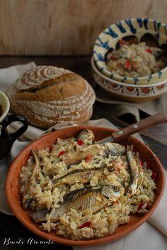 Rețete cu pește și fructe de mare Archives | Bucate Aromate Romanian Food, Fish Recipes, Seafood, Food And Drink, Breakfast, Sea Food, Morning Coffee, Morning Breakfast, Seafood Dishes