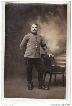 WWI - 1915 - VIENNE - 13 EME REGIMENT - CARTE PHOTO MILITAIRE