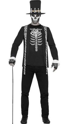 <p>Protect your tribe from evil spells when you dress as a Witch Doctor. This men's VooDoo African witch doctor costume by Smiffy's is perfect to become a healer at your next Halloween costume party. See below for full description and size details.</p>