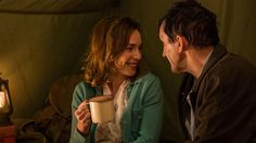 Camping together (Shelagh & Patrick Turner) - Portrayed by Laura main & Stephen McGann Camping Tv Show, Helen George, Doctor Who Companions, Call The Midwife, Tv Reviews, Cozy Mysteries, Paranormal Romance, Book Show, Pride And Prejudice
