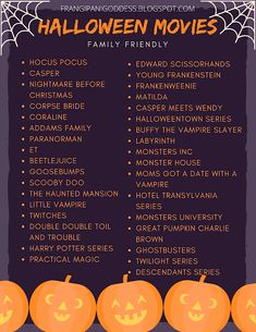 Halloween Movies To Watch, Halloween Movie Night, Theme Halloween, 31 Days Of Halloween, Halloween Activities, Disney Halloween, Halloween Season, Holidays Halloween, Spooky Halloween