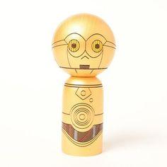 Usaburou Kokeshi|C-3PO こけし