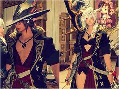 """""""Kirimu Coat: Sexiest gear in game. Ever. #FFXIV #FF14"""""""