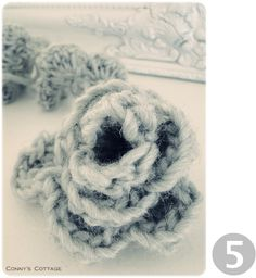 Connys Cottage: Tutorial for crochetflowers