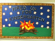 Mrs. McDonald's 4th Grade: Camping Themed Classroom Fired Up for S'more Reading