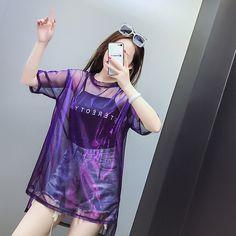 Cheap T-Shirts, Buy Directly from China Suppliers: 2018 .- Cheap T-Shirts, Buy Directly from China Suppliers: 2018 Harajuku Women T-Shirts 2 … – - Kpop Fashion Outfits, Girls Fashion Clothes, Edgy Outfits, Korean Outfits, Cute Casual Outfits, Pretty Outfits, Girl Outfits, Women's Casual, Fashion 2018