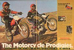 1974 Honda and ''The Motorcycle Prodigies'' Ad Vintage Honda Motorcycles, New Honda, Mini Bike, Best Dad, Vintage Ads, Larger, Ebay, Amazing, Autos