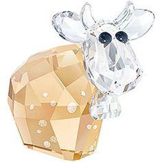 #Swarovski #Crystal #Cow Figurine