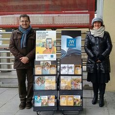 Public Witnessing in Madrid, Spain