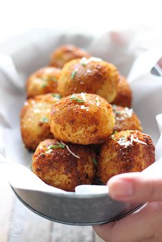 Loaded  Mashed  Potato  Balls so crispy on the outside but soft, fluffy and creamy on the inside. The Cooking Jar