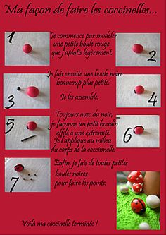 How to make a play dough ladybird