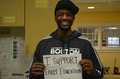 He supports the work Horizons for Homeless Children does! Volunteer or make a donation today to change the life of a homeless child in Massachusetts. Education For All, Early Education, Jason Terry, In Boston, Social Work, How To Plan, Massachusetts, Children, Nba