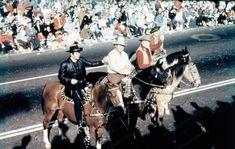 8x10 Print Bonanza Cast 1961 Rose Parade Michael Landdon #1011619