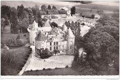 Rozay en Brie - Rozay en Brie (77) - Le Château de Lagrange - En avion au dessus de