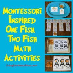 Montessori-Inspired One Fish, Two Fish Math | Flickr - Photo Sharing!
