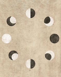 lunar cycle art - Google Search
