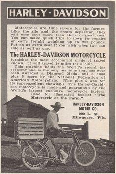 Harley-Davidson Motorcycle 1911