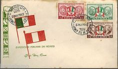 Peru 1962 FDC Exposicion Peruana en Mexico