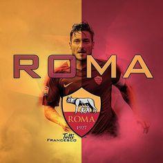 "73 oznaka ""sviđa mi se"", 1 komentara – RB_FootballEdits (@rb_footballedits) na Instagramu: ""Francesco Totti! -- #francescototti #totti #10 #asroma #roma #rome #italy #gladiator #italia…"" Totti Francesco, Totti Roma, As Roma, Juventus Fc, Rome Italy, Soccer, Celebrities, Instagram Posts, Hs Sports"
