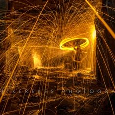 Steel wool spinning 5