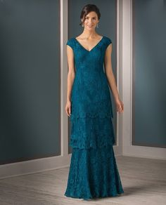 Jade Couture K188007 Long Lace Dress