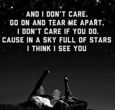 I love Coldplay & A Sky Full Of Stars! ☆★☆★☆★☆★☆★