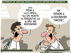 CFM -  Mais da metade dos formados em Medicina são reprovados em SP