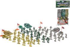 Vojáci s doplňky 70 ks - 0