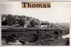 historic trains west virginia   View of Thomas and Passing Train ...
