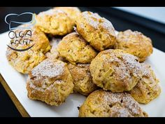 (3) Saftige Apfelkekse - Blitzschnell Gemacht   Olga Kocht - YouTube Healthy Cookie Recipes, Healthy Sweets, Apple Recipes, Apple Pie Cookies, Biscuit Cookies, Cooking Chef, Cooking Recipes, Desserts With Biscuits, Mantecaditos