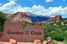 Garden of the Gods:    This place is a gorgeous public park that was recognized as a National Natural Landmark in 1971. And in 2011, it was recognized as a Great American Public Place. It's a fun place to have horseback riding, mountain biking, hiking and rock climbing.