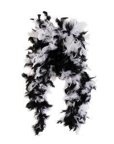 Black and White Feather Boa – Spirit Halloween