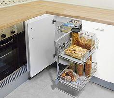 Cubo reciclaje 5 1 contenedor 9 0 ancho blum guarda tus for Accesorio extraible mueble cocina