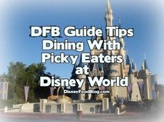 If you have a picky eater in your family (there's usually at least one) ... then you'll want to read these tips for dining at Disney World!  | Disney Dining | Disney Dining Plan | Disney Dining Tips | Disney Dining Plan Tips |